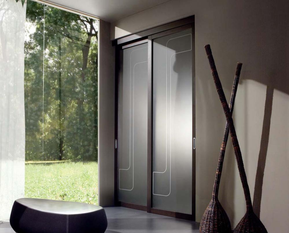 Porte in vetro dpm serramenti - Porte in vetro design ...