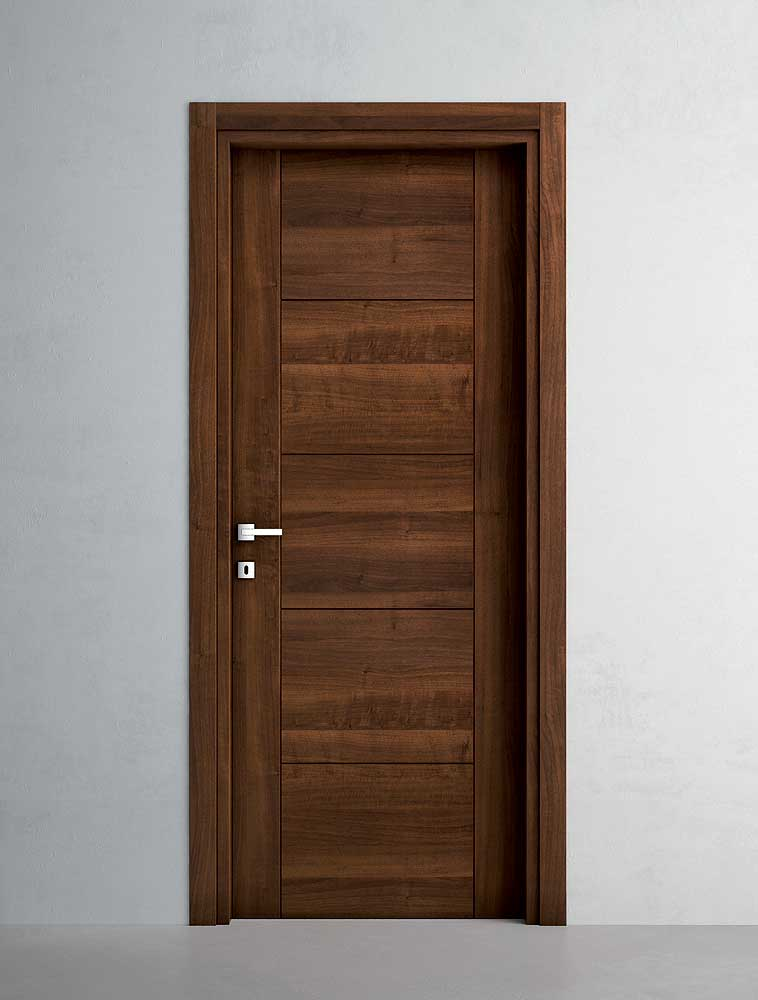 Porte in laminato dpm serramenti - Porte noce chiaro ...